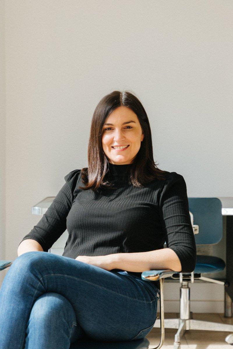 María Tomé Nuez. Fotografía: Silvia Gil Roldán, enero 2021