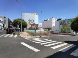 Solares públicos vacantes. Espacio Público en Puerto del Rosario (Fuerteventura).
