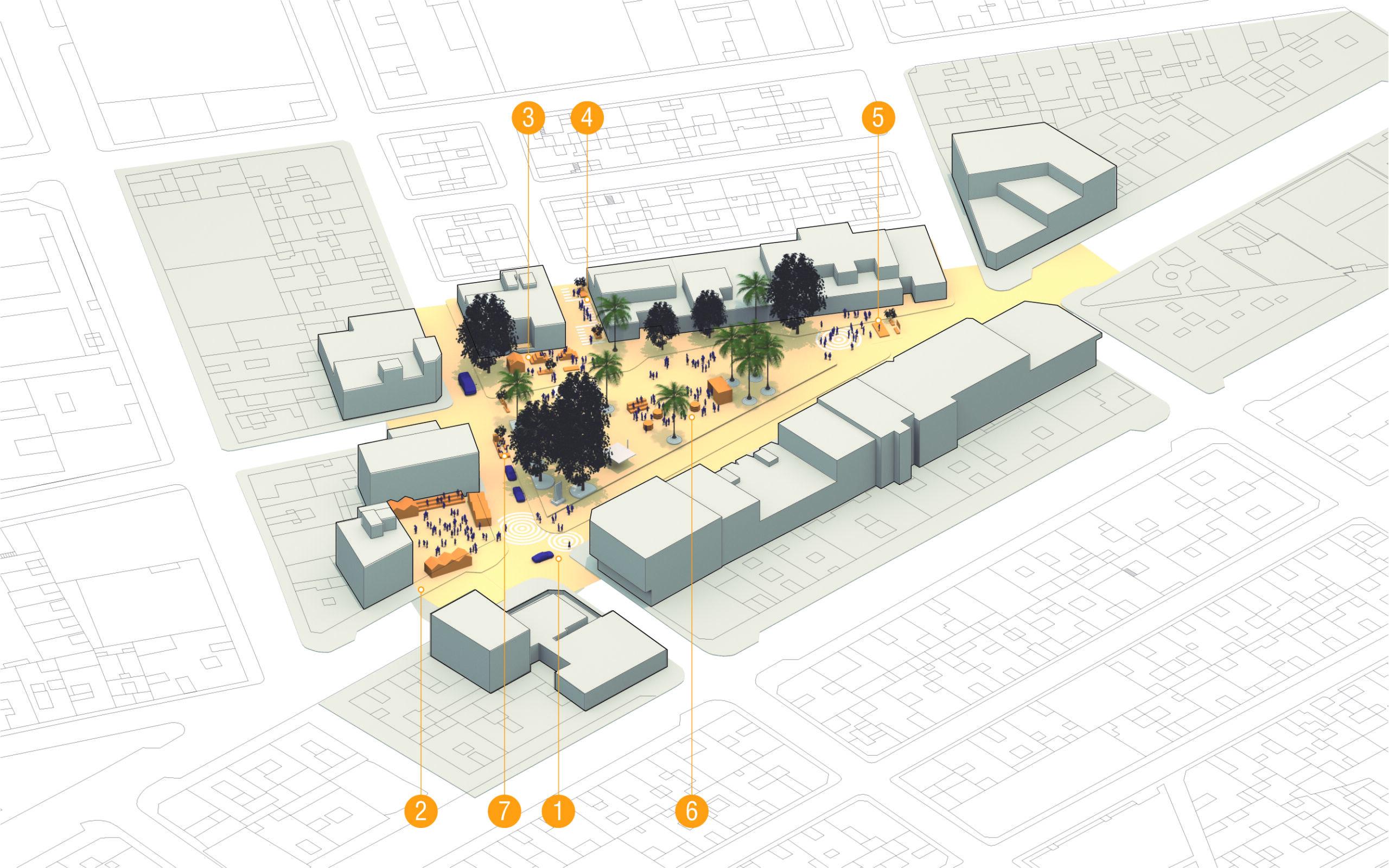 Resultados Diseño Cívico Plaza del Tomate, Puerto del Rosario