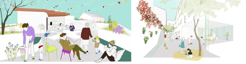 """Collages Entrepatios """"Las Carolinas"""", sAtt"""