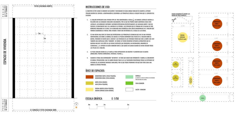 """Kit diseño participativo viviendas Entrepatios """"Las Carolinas"""""""