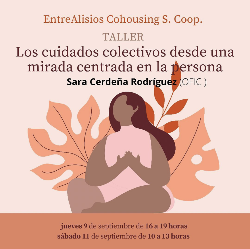 Taller cuidados colectivos en Cohousing EntreAlisios, Sara Cerdeña (OFIC.COOP)